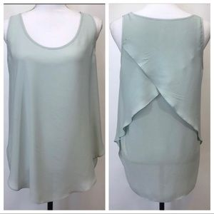Banana Republic Blouse Sleeveless Mint